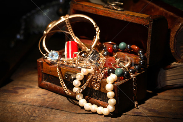 Open Jewelry Box Stock photo © cosma