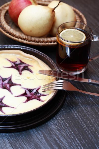 Cheesecake And Fruits Stock photo © cosma