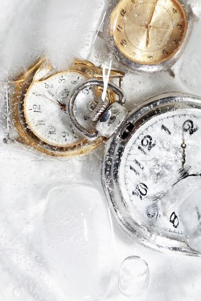 заморожены время воды льда Сток-фото © cosma