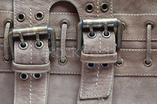 Leather With Belts Stock photo © cosma