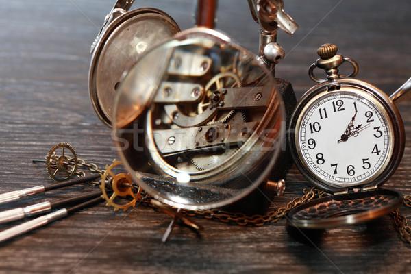 Ancient Watch Repair Stock photo © cosma