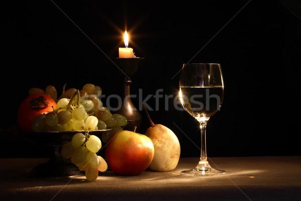 Fruits And Wine Stock photo © cosma