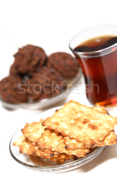 Crackers And Tea Stock photo © cosma