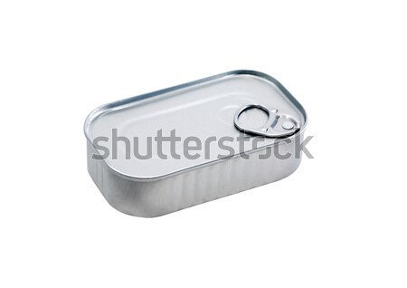 Canned Food On White Stock photo © cosma