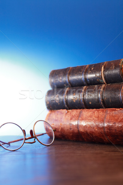 Spectacles And Books Stock photo © cosma