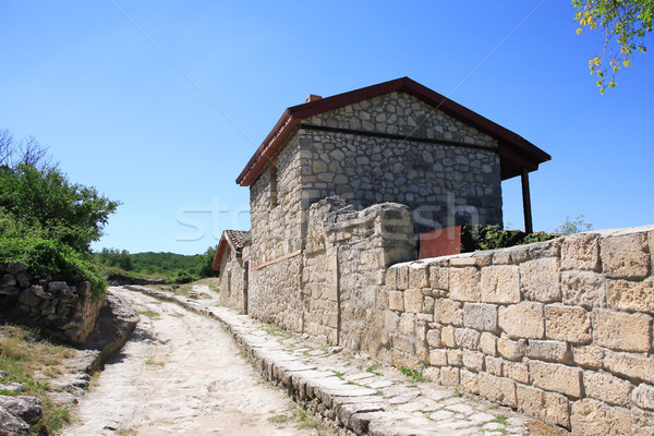 Old Stone House Stock photo © cosma