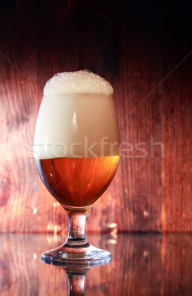 Glass Of Beer Stock photo © cosma