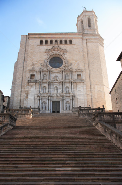 Gerona Cathedral Stock photo © cosma