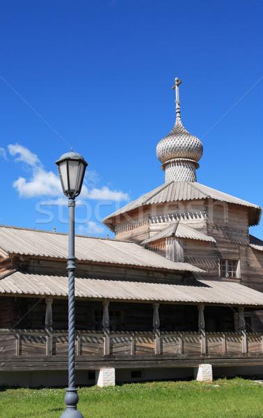 Wooden Russian Church Stock photo © cosma