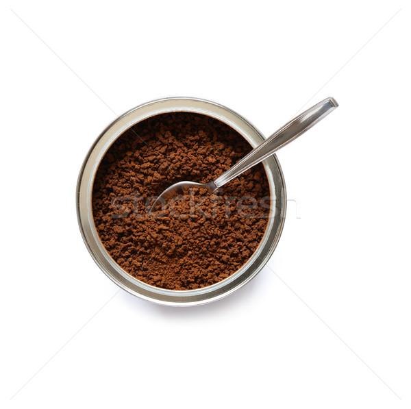 растворимый кофе можете полный ложку внутри Сток-фото © cosma