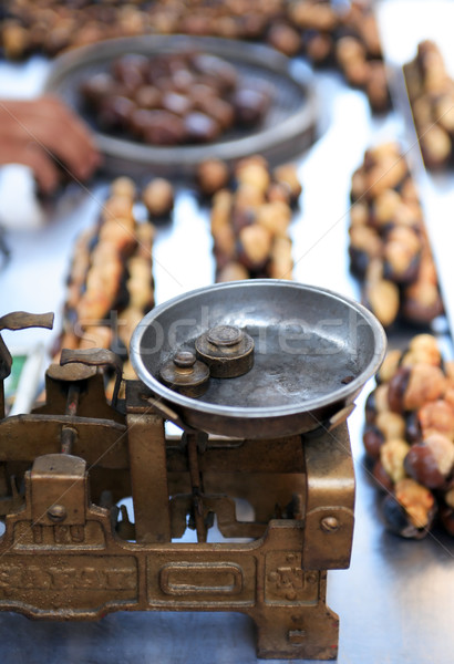 Roast Chestnut Sale Stock photo © cosma