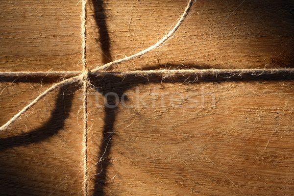 Wood And Rope Stock photo © cosma