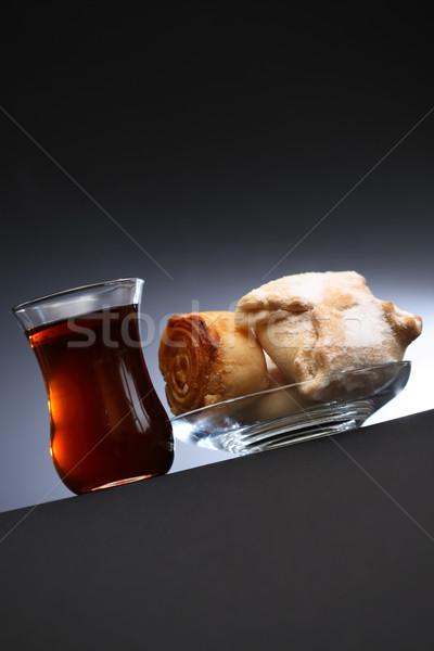 Tea And Pastry Stock photo © cosma