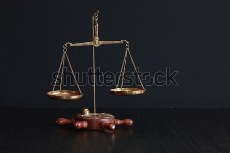 Old Weight Scale Stock photo © cosma