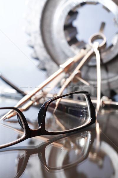 Spectacles And Tools Stock photo © cosma