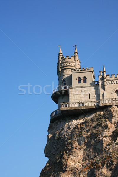 Castle On The Rock Stock photo © cosma