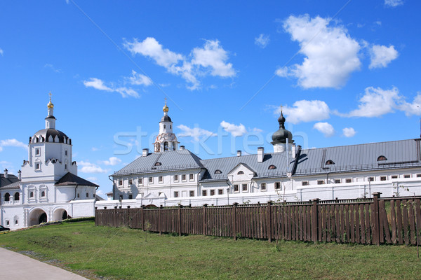 Stock photo: Old Russian Orthodox Abbey