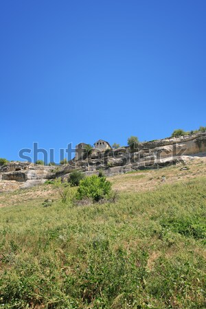 Ancient Stronghold On The Hill Stock photo © cosma