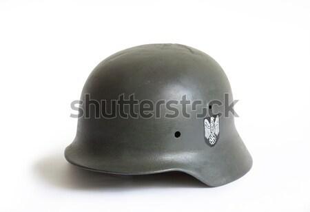 German Military Helmets Stock photo © cosma