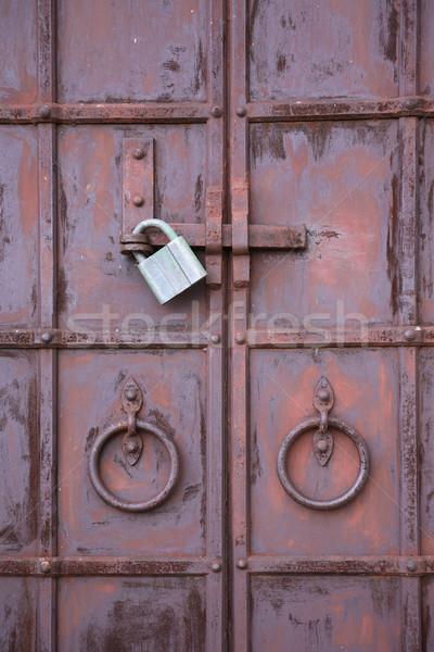 Closed Metal Door Stock photo © cosma
