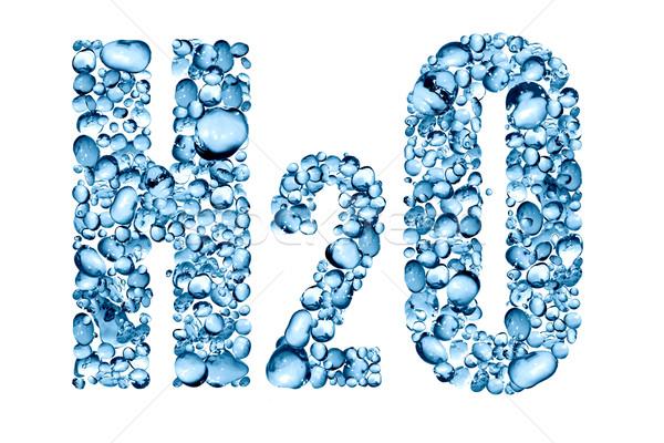 Water Formula H2O Stock photo © cosma
