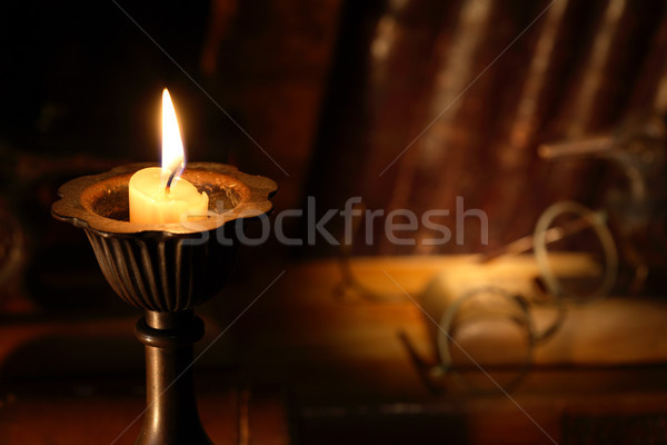 Old Candlestick Stock photo © cosma