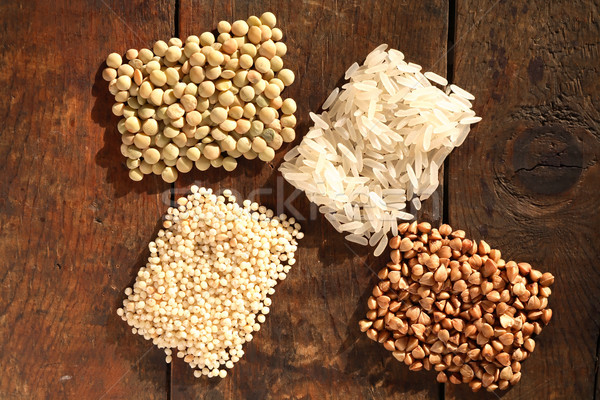 Cereals On Wood Stock photo © cosma