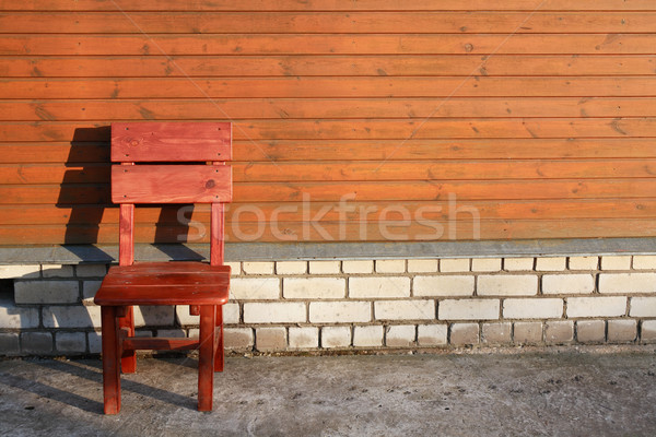 Wooden Chair Stock photo © cosma