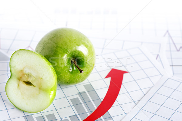 прибыль все яблоко бумаги Сток-фото © cosma