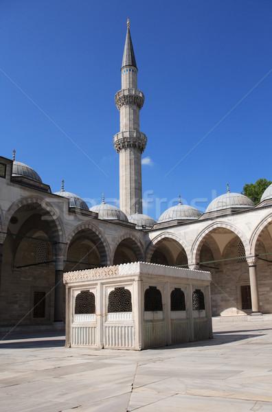 Mosque Courtyard Stock photo © cosma