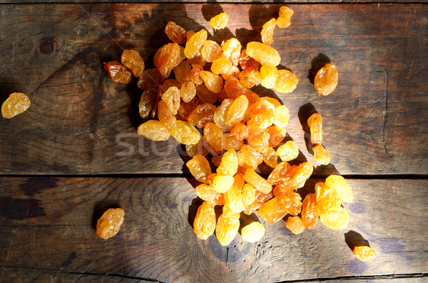 Raisin On Wood Stock photo © cosma