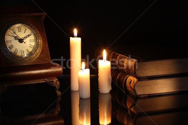 Books And Clock Stock photo © cosma