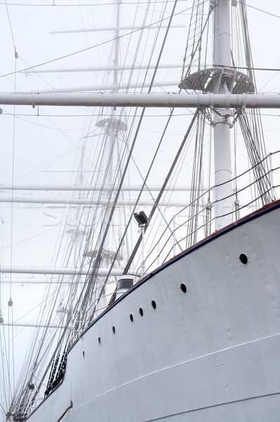 Ship In Fog Stock photo © cosma
