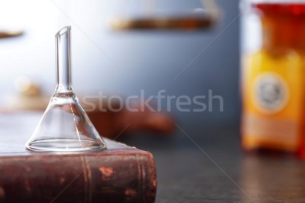 Old Laboratory Equipment Stock photo © cosma