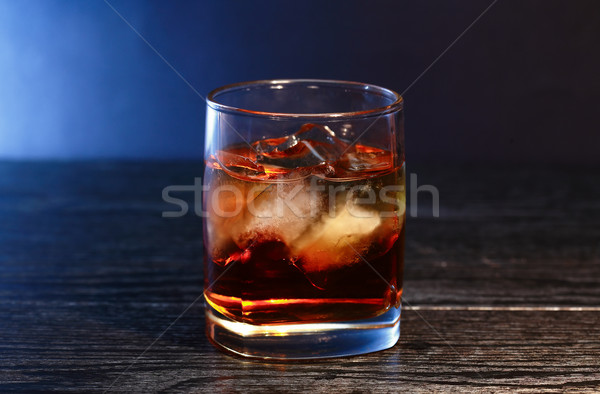 Whiskey With Ice Stock photo © cosma