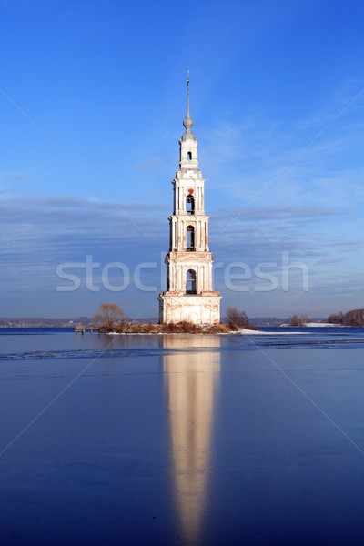 Flooded Belfry In Russia Stock photo © cosma