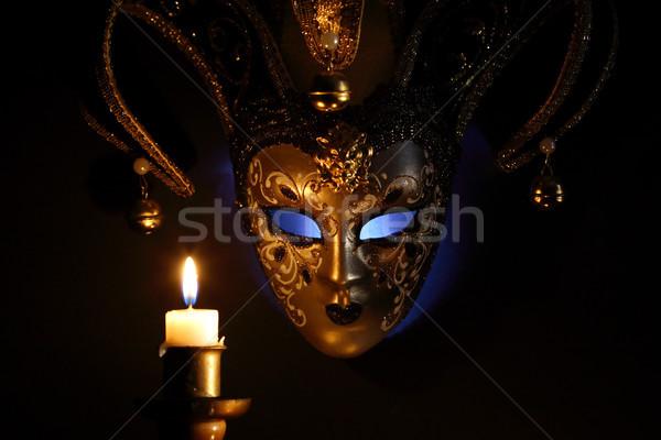 Mask And Candle Stock photo © cosma