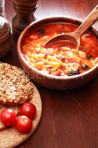 Soup And Seasoning Stock photo © cosma