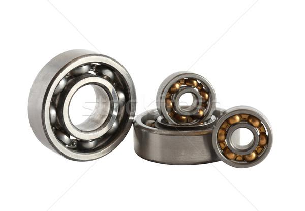 Ball Bearings On White Stock photo © cosma