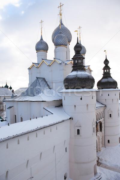 Old Russian Abbey Stock photo © cosma