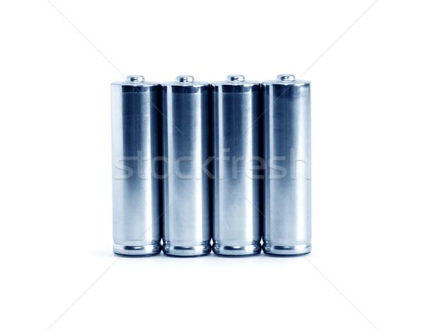 Set Of Batteries Stock photo © cosma