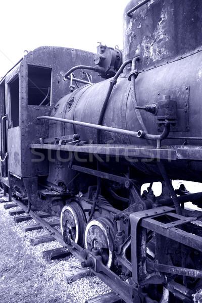 старые ржавые антикварная сломанной Сток-фото © cosma