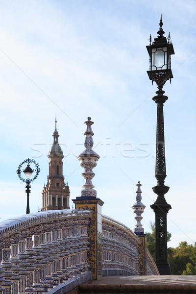 Small Bridge In Sevilla Stock photo © cosma