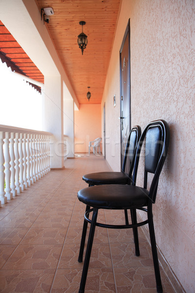 Hotel Veranda Stock photo © cosma