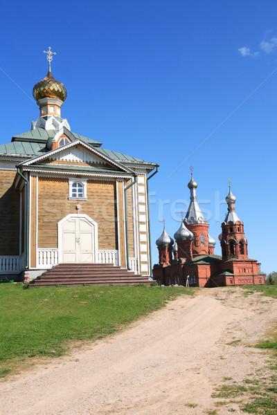 Old Russian Church Stock photo © cosma