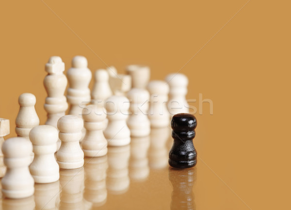 Brave Pawn Stock photo © cosma
