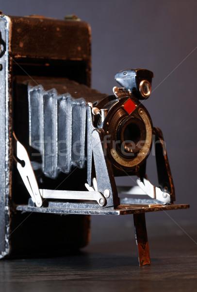 Klasszikus fotó kamera közelkép öreg film Stock fotó © cosma