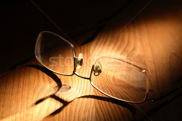 Spectacles On Wood Stock photo © cosma