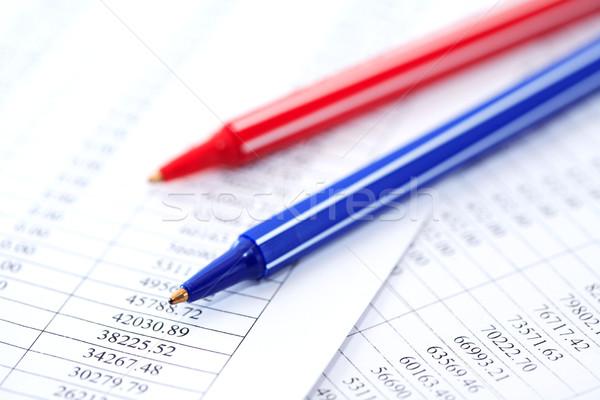 Tollak számjegyek üzlet közelkép kettő színes Stock fotó © cosma
