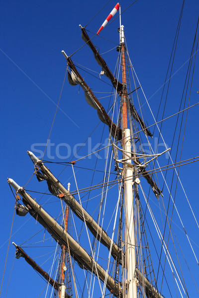 Sailing Ship Mast Stock photo © cosma